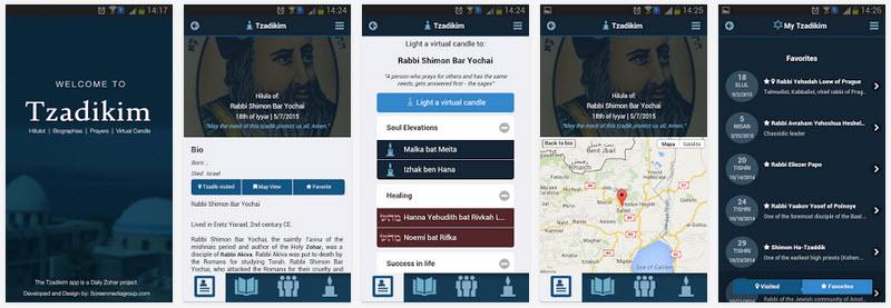 tzadikim app