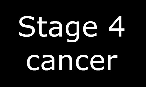 Stage 4 cancer – part 1