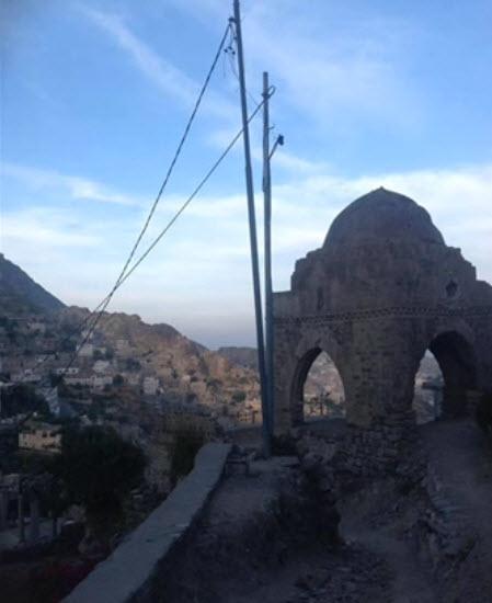 Shabazi burila place in Taizz, Yemen