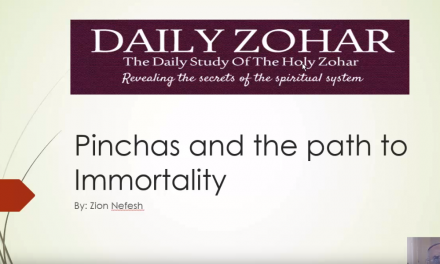 Pinchas and The Path to Inmortality